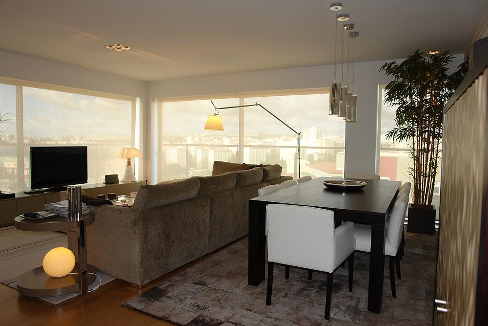 Projecto de Decoração de Interiores Apartamento Lisboa
